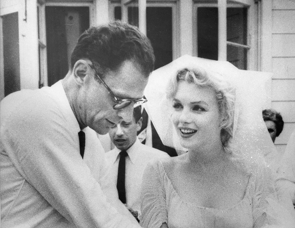 Свадьба Мэрилин Монро и Артура Миллера