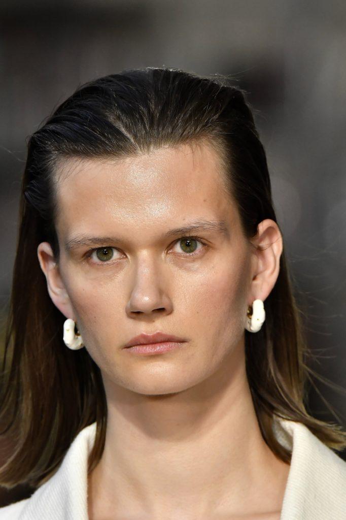 эффект влажных волос