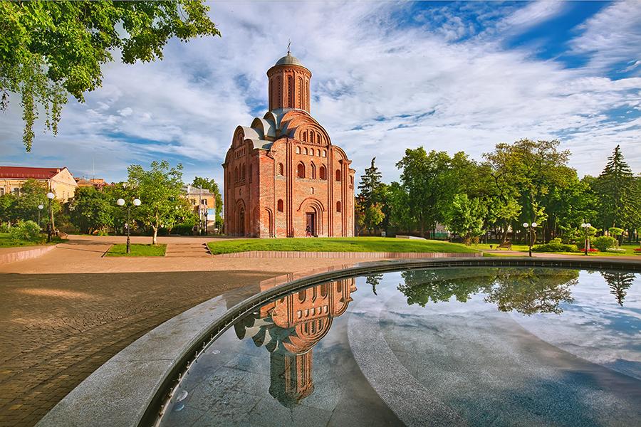 куда поехать Украина Чернигов что посмотреть церкви