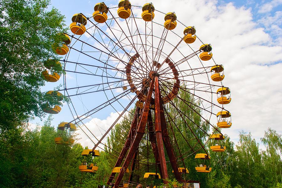 куда поехать Украина Чернобыль что посмотреть колесо оборения