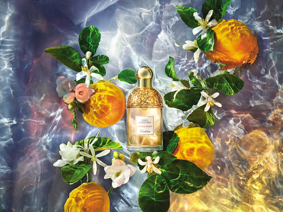 аромат парфюм духи свежий на лето с апельсином Aqua Allegoria Orange Soleia
