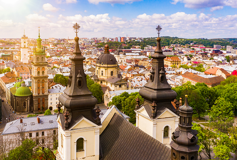 куда поехать Украина Львов что посмотреть церкви