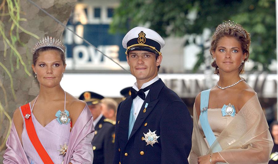 кронпринцесса принцесса Виктория принц Филипп принцесса Мадлен Швеция королевская семья