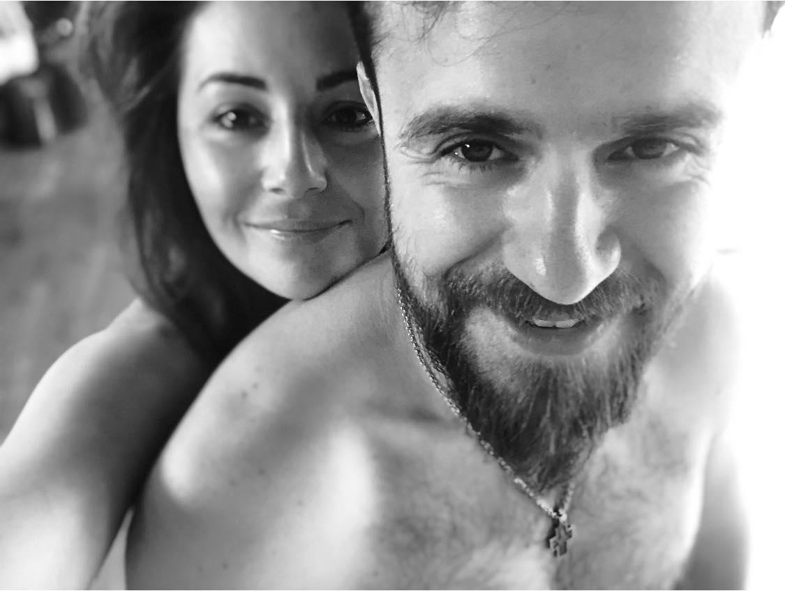 Даша Малахова с мужем