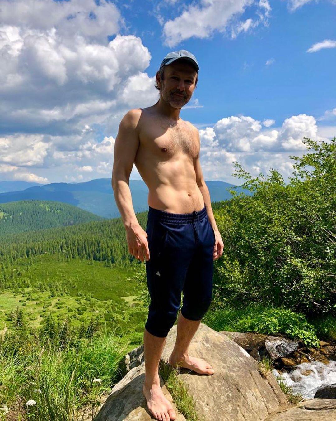 Святослав Вакарчук на отдыхе