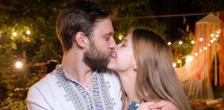 Стася Ровинская с мужем