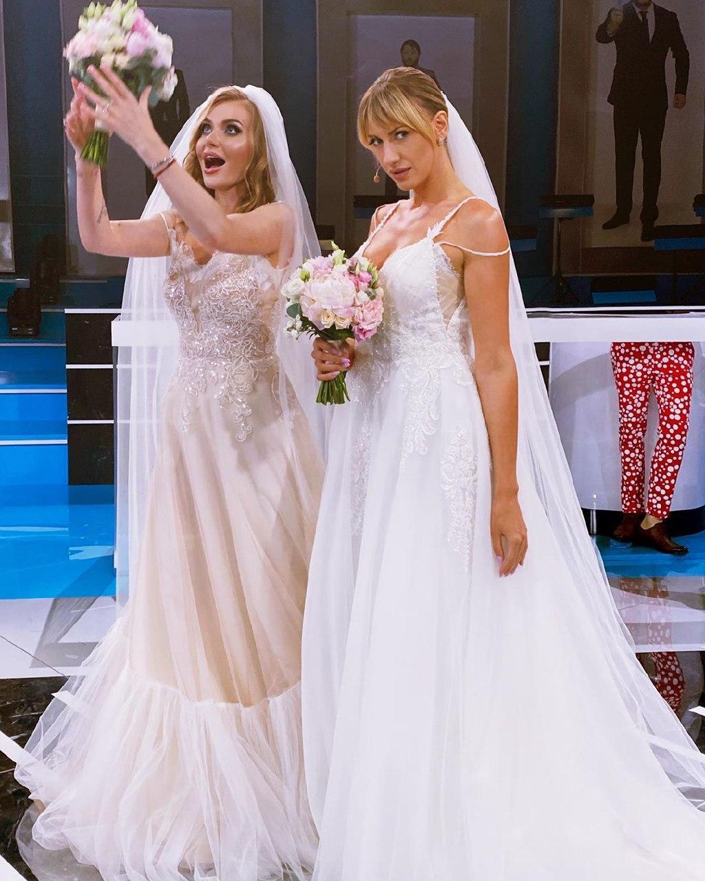 Леся Никитюк свадебное платье