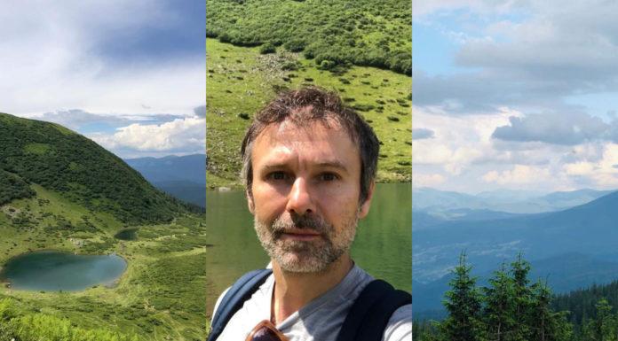 Святослав Вакарчук отдых в горах