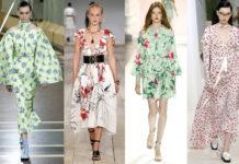 модніе платья в цветочек 2020