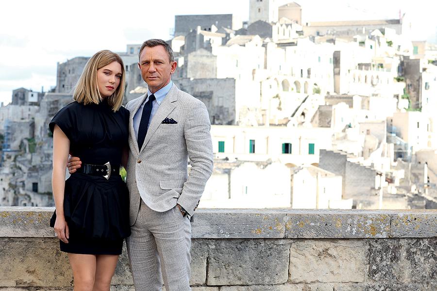Леа Сейду Дэниел Крейг бонд бондиана 007 спектр не время умирать