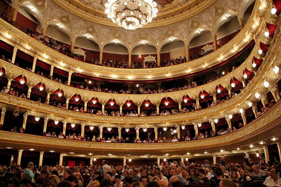 Odessa Classics 2020 Алексей Ботвинов фестиваль одесская опера интерьер