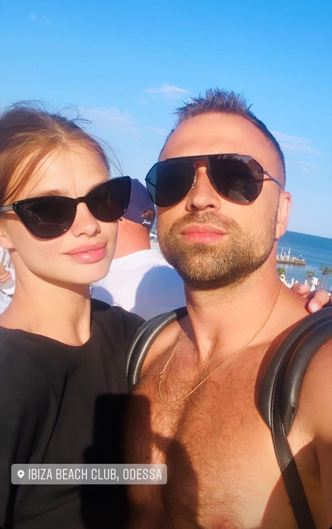 Макс Михайлюк и Даша Хлистун