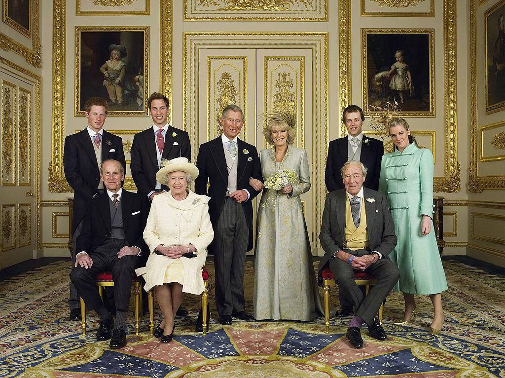 свадьба принц чарльз камилла паркер боулз принц филипп королева елизавеа принц уильям принц гарри королевская семья