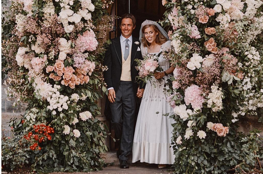 принцесса Беатрис свадьба свадебные фото эдоардо мапелли моцци