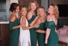 Даша Квиткова свадьба подружки невесты