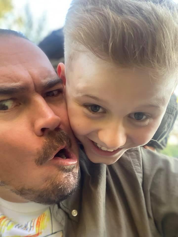 Фагот с сыном Никитой