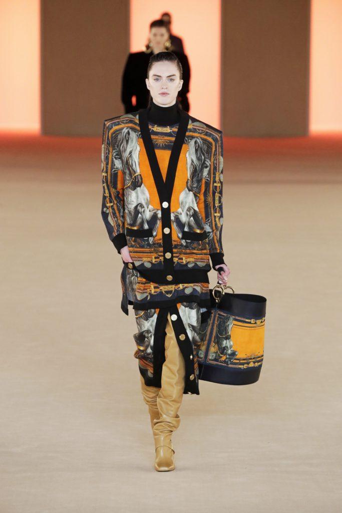 Balmain, Paris Fashion Week, осень-зима 2020/2021