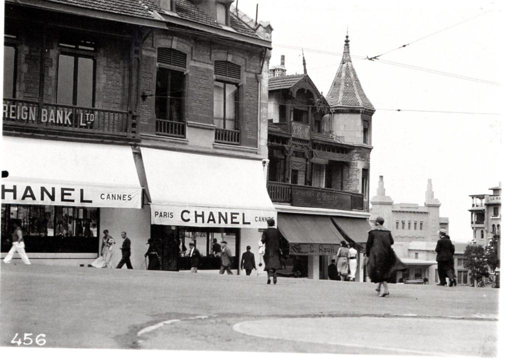 Бутик CHANEL в Биарриц, 1931 год