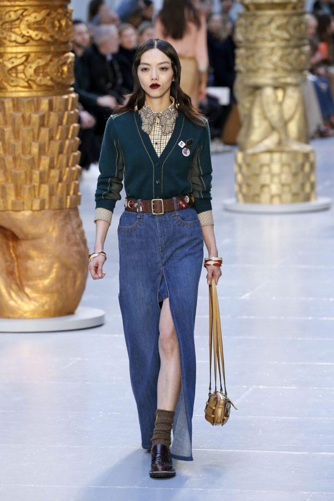 Chloe, Paris Fashion Week, осень-зима 2020/2021