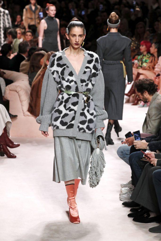 Fendi, Milan Fashion Week, осень-зима 2020/2021