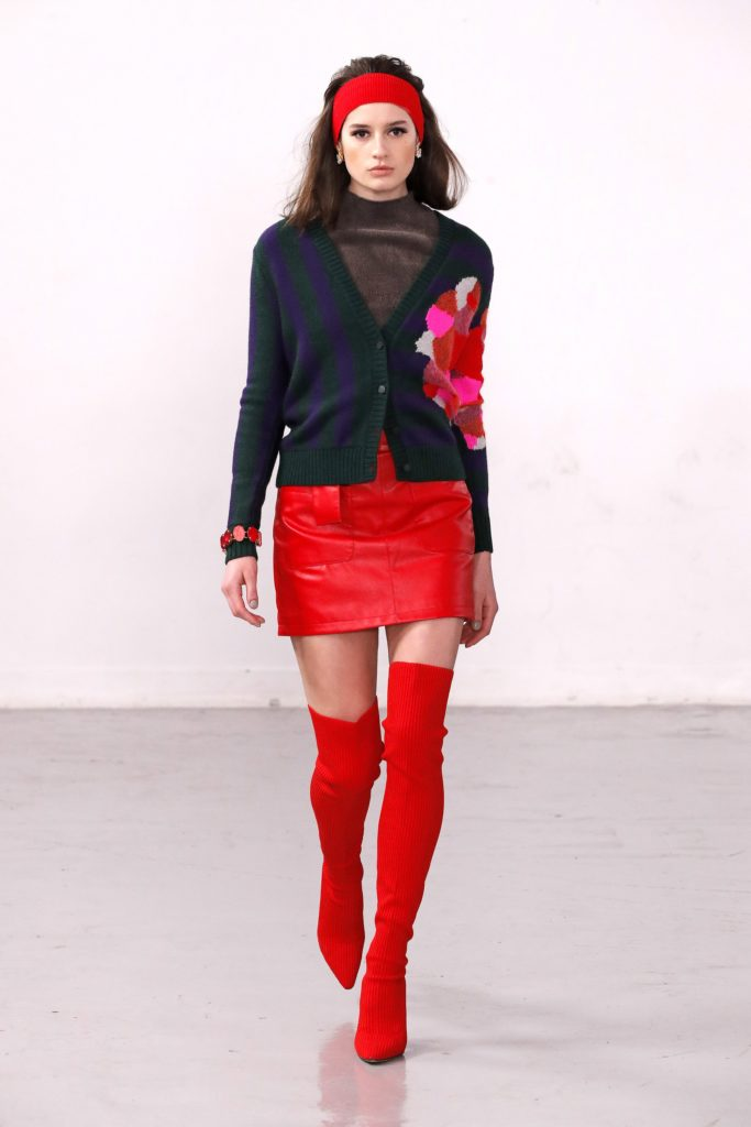 Mark Fast, London Fashion Week, осень-зима 2020/2021