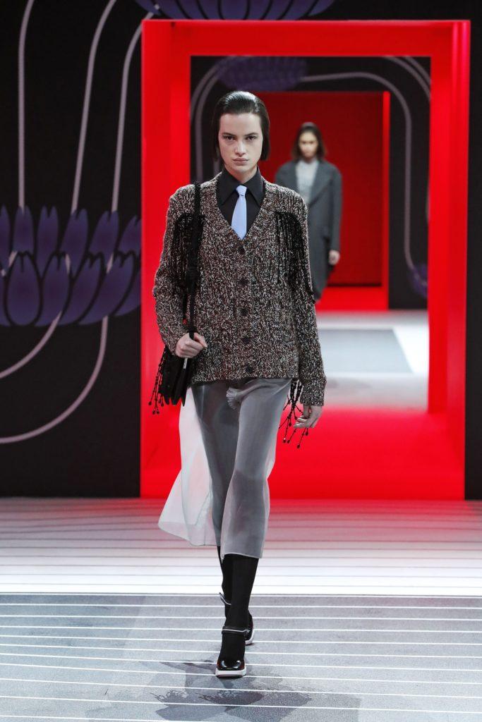 Prada, Milan Fashion Week, осень-зима 2020/2021