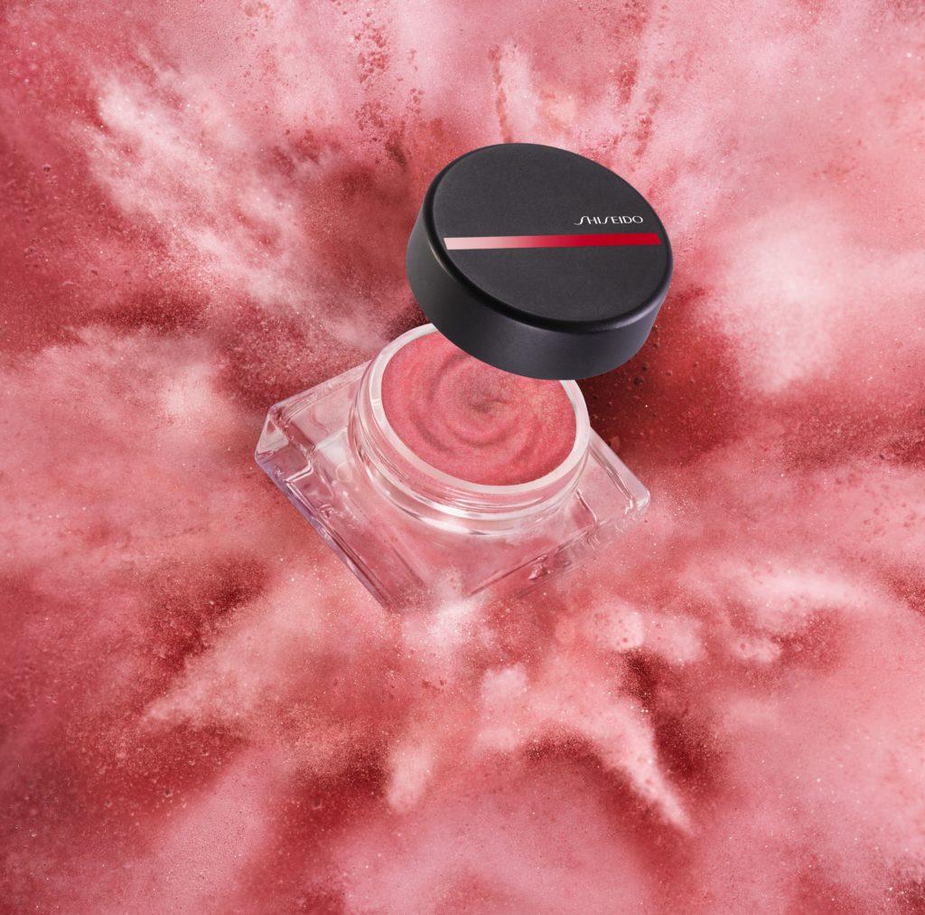 Воздушные кремовые румяна-вуаль Minimalist WhippedPowder Cream Blush, № 01 Sonoya, Shiseido
