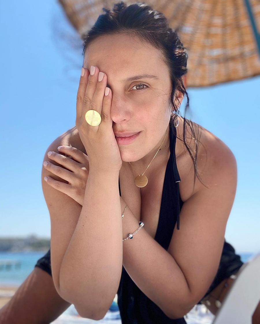 джамада по сле родов в купальнике на море отдых турция