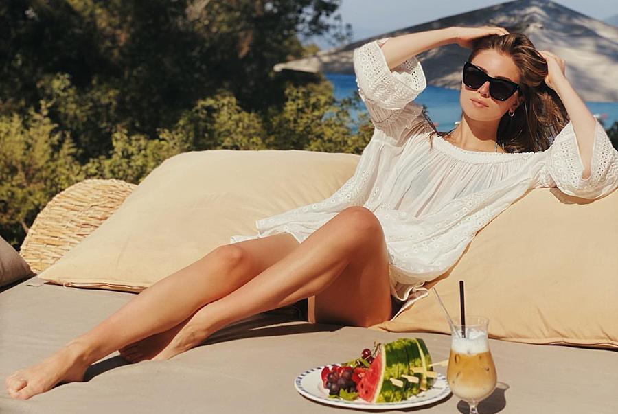 внучка софии ротару софия евдокименко отдых море турция отпуск