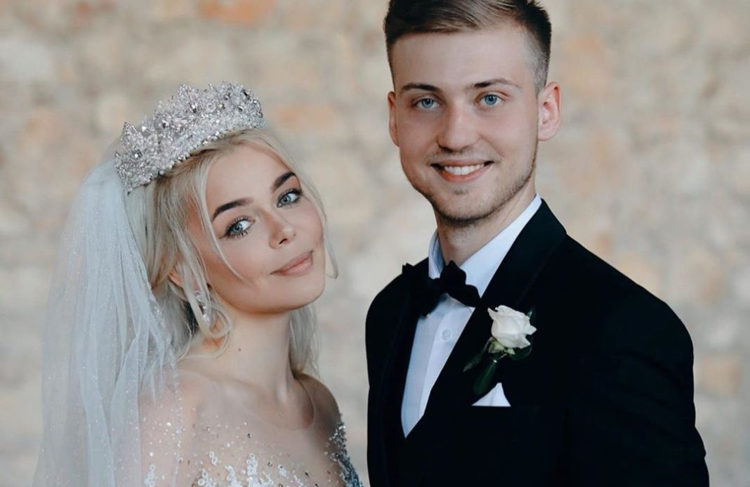 Алина Гросу свадьба