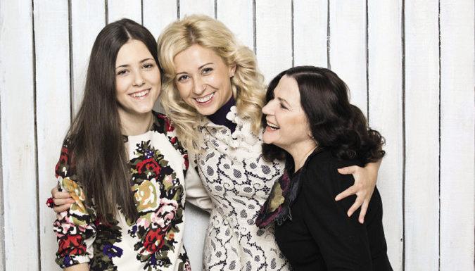 Тоня Матвиенко с дочерью
