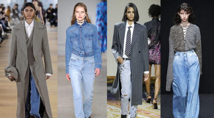 джинсы палаццо прямые джинсы джинсы с вышивкой