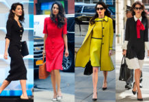 стиль Амаль Клуни, женские деловые костюмы