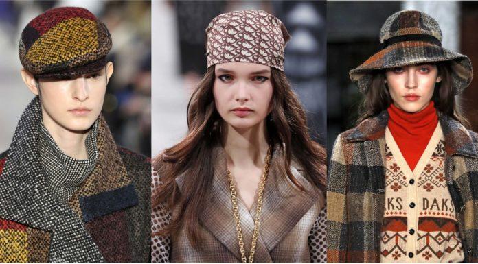 модные головные уборы осени 2020