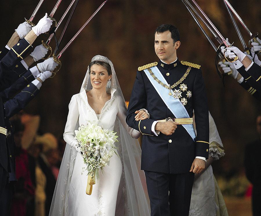 королева летиция король фелипе день рождения испанская королевская семья свадьба