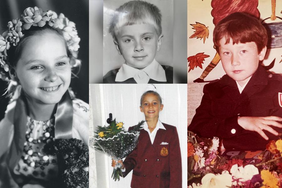 украинские звезды детство школа анна ризатдинова олег собчук павел костицын даша трегубова