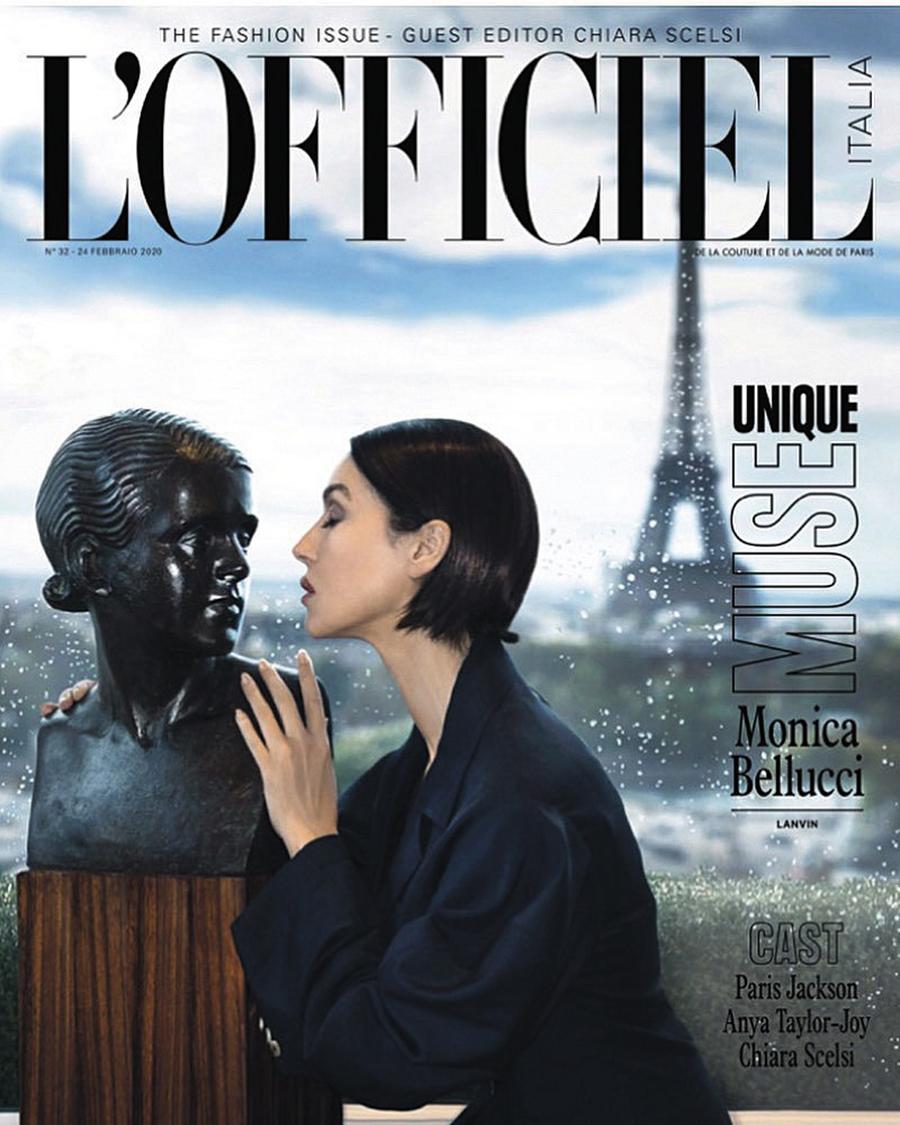 моника беллуччи похудела короткая стрижка обложка журнала