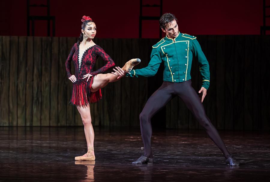 екатерина кухар александр стоянов балет танцоры муж и жена национальная опера новый сезон сентябрь 2020