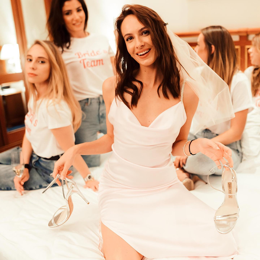 владимир остапчук кристина горняк вторая жена невеста свадьба девичник