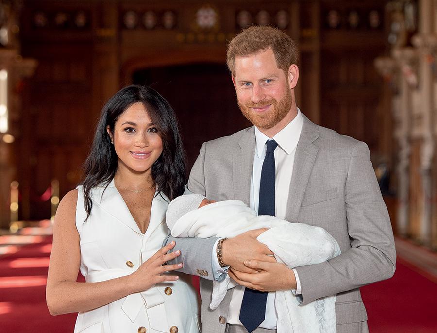 принц гарри день рождения жена меган маркл сын арчи