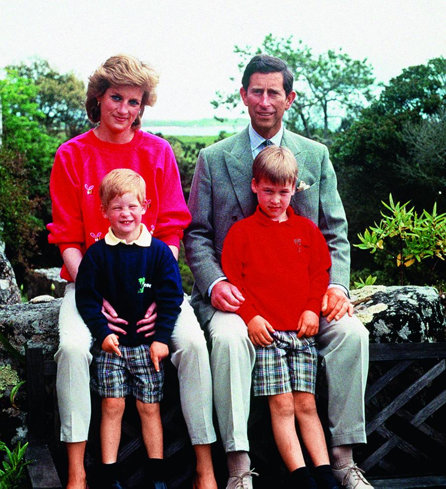принц гарри день рождения детские фото принцесса диана принц чарльз принц уильям семейные фото