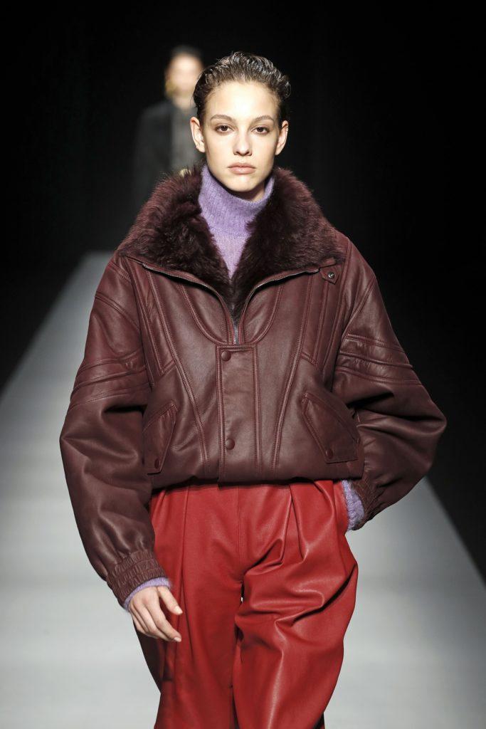 модные кожаные куртки осени 2020