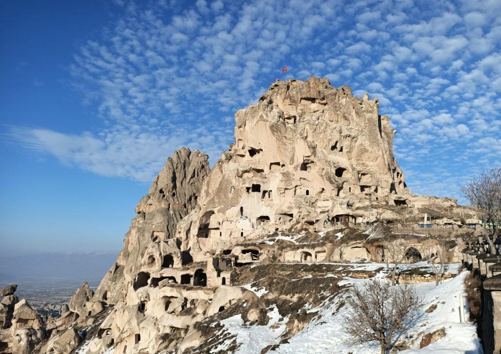Пещерный замок в Каппадокии