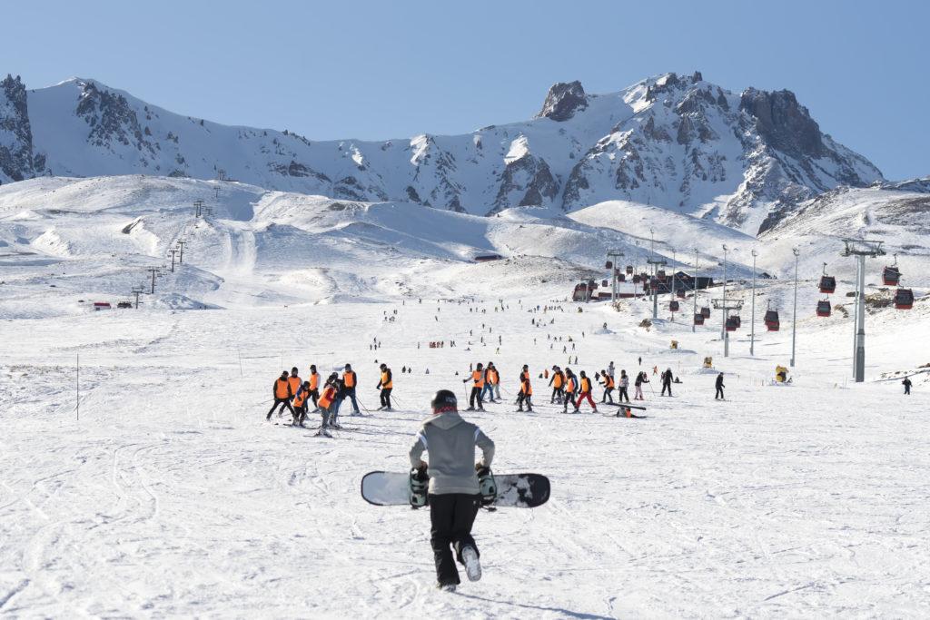 Турецкий горнолыжный курорт Кайсери-Эрджиес
