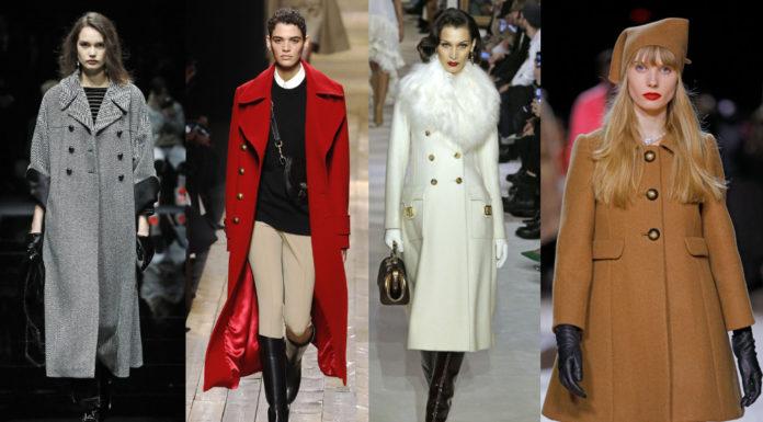 модные пальто осень зима 2020
