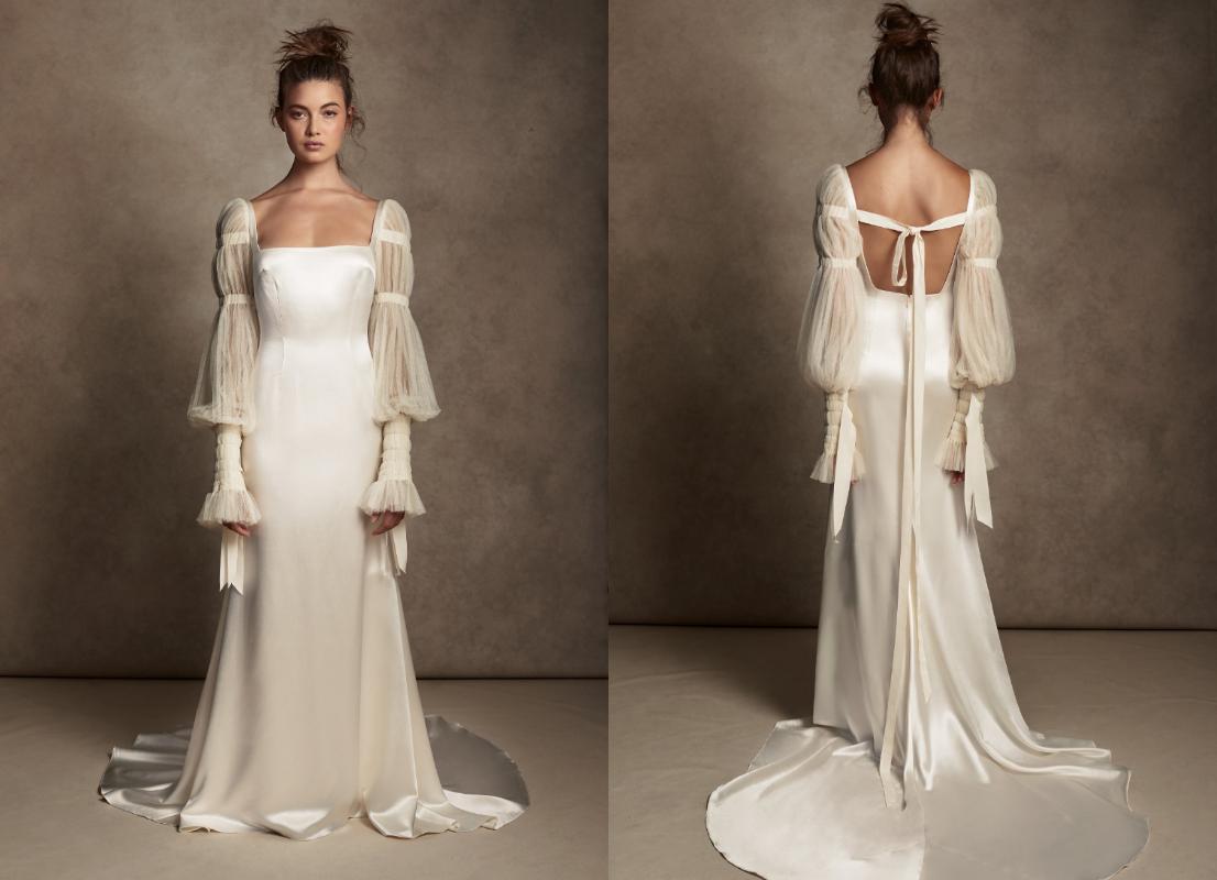 свадебные платья тренды 2021