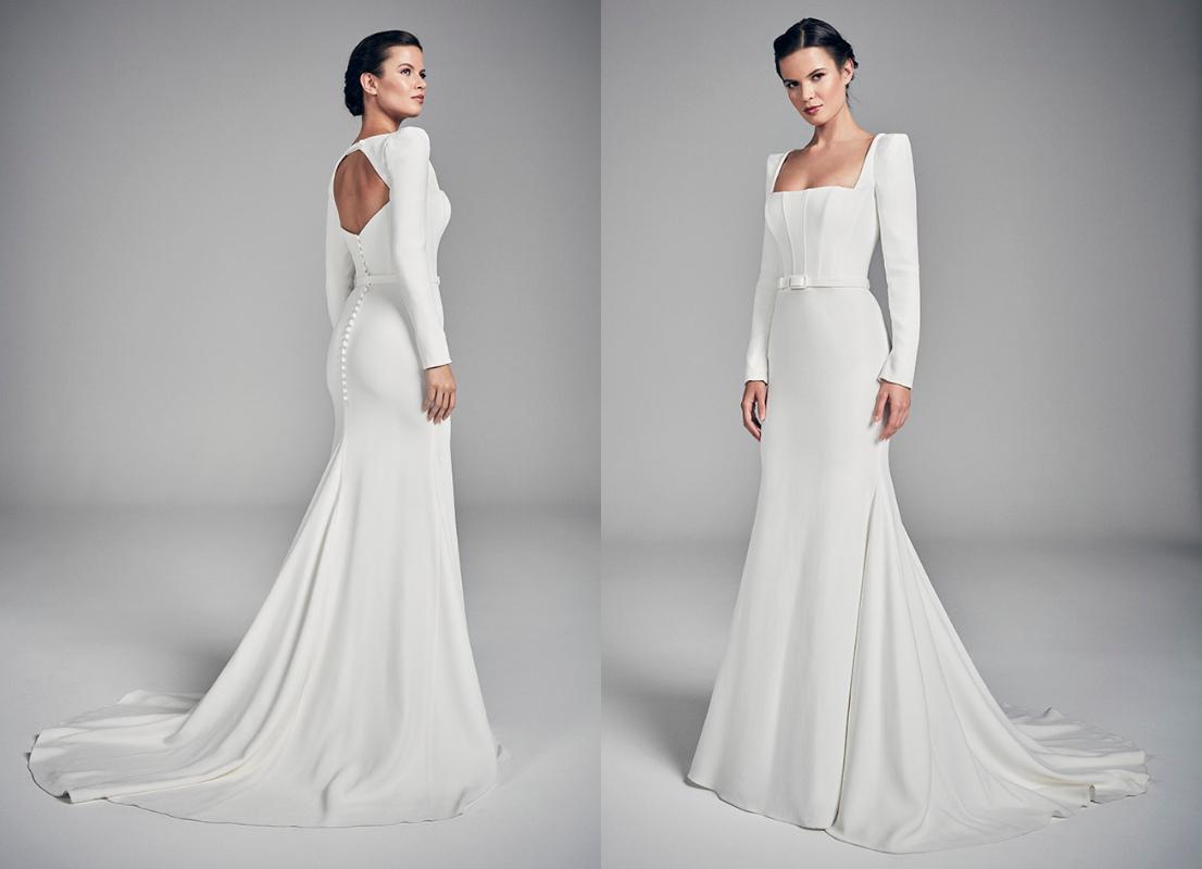 свадебные платья 2020-2021 зима