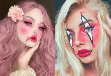 макияж на хэллоуин 2020