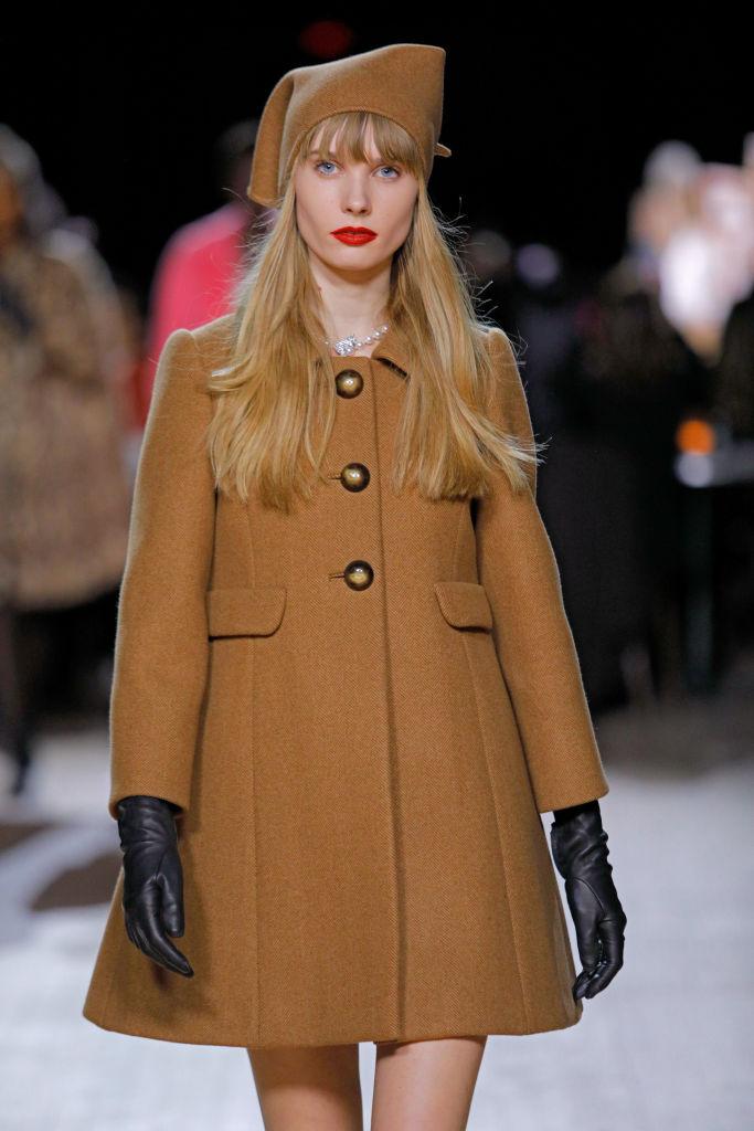 модное пальто 2020