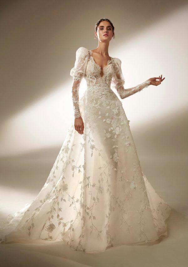 кружевное свадебное платье 2021